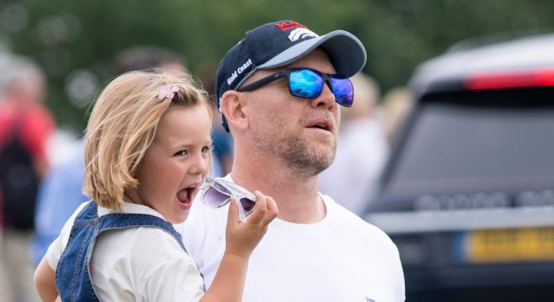 Zara Phillips' husband said he was keen for their eldest to return to the classroom (Getty Images)