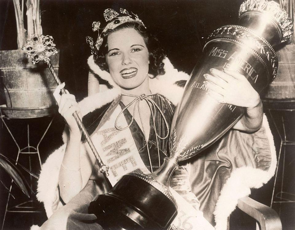 <p>Rose Veronica Coyle from Philadelphia took home the title in 1936, wearing a black velvet gown for the occasion.</p>