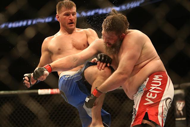 How Stipe Miocic's only career loss made him a better fighter