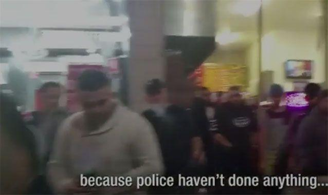 Community fights back after anger over lack of police action. Photo: 7 News