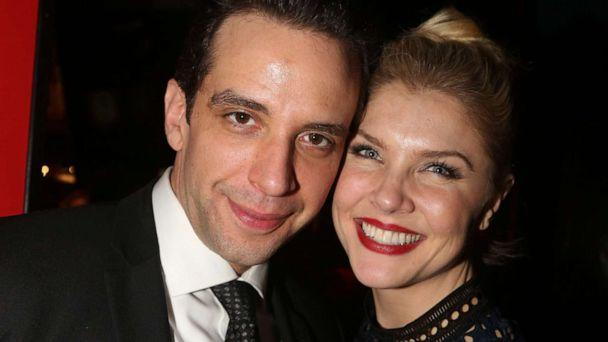 PHOTO: Nick Cordero and Amanda Kloots attend an event in New York, Feb. 19, 2017. (FilmMagic via Getty Images, FILE)