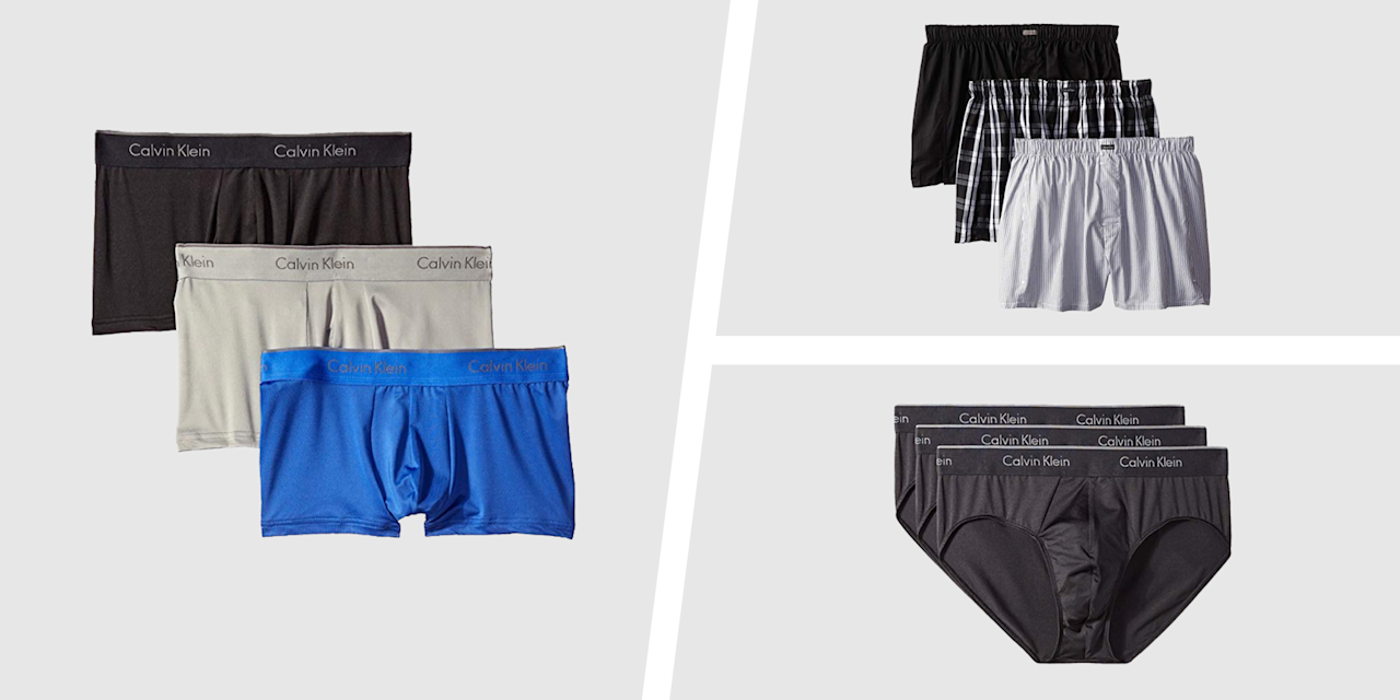 """<p>When it comes to getting dressed each morning, your underwear might be a complete afterthought. Sure, you may put in a lot of time and energy into find the perfect moisture-wicking shirt for your outdoor run or some sneakers for the big race, but your underwear? Whatever's clean and isn't ripping apart at the seam is usually sufficient.</p><p>The truth? Your underwear matters. After all, nobody wants to deal with unnecessary or an ill-fitting pair that rides up to uncharted territory.  </p><p>If you're looking to refresh your underwear drawer—but don't want to spend a small fortune on your unmentionables—<a href=""""https://www.amazon.com/dp/B00JQSZUUW"""" target=""""_blank"""">Amazon's here to help</a>. Right now, the retailer is offering some price cuts on several styles of Calvin Klein underwear. Whether you prefer boxers, briefs, or something in between, you're bound to find the right style for your needs. </p><p>Sure, prices will vary based on size, color, and style, but one thing's for sure: Now's a better time than stock up on the essentials. Below, check out five fail-safe pairs worth adding to your underwear drawer. </p>"""