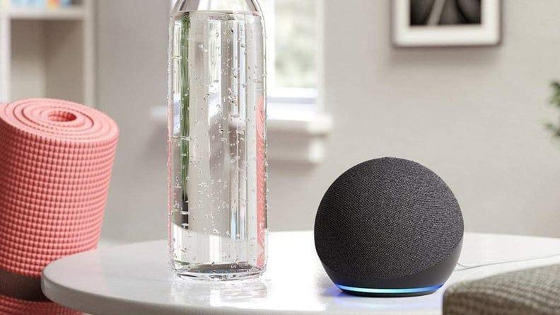 The 4th generation Echo Dot is both affordable and stylish for any home.