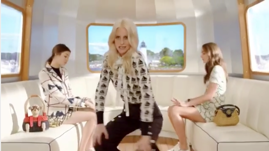 Tory Burch released a video for her new summer 2017 collection, which is being criticized for cultural appropriation and lack of diversity. (Photo: Instagram)