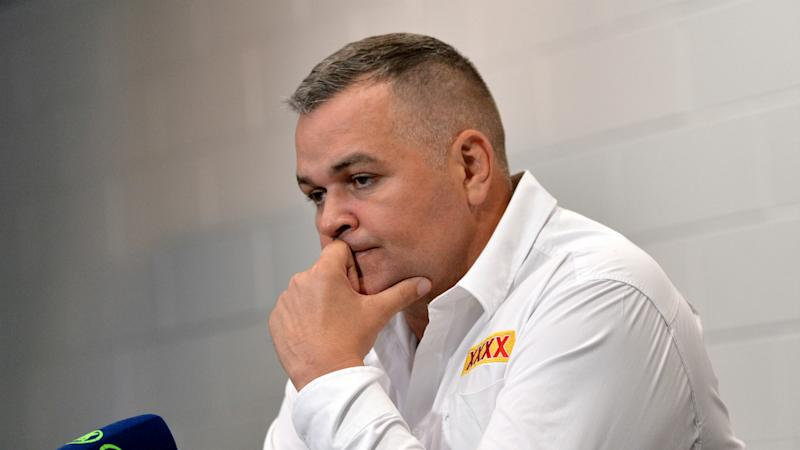 Broncos back Seibold... for now