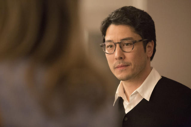 James Yaegashi as Robert Minoru. (Photo: Paul Sarkis/Hulu)