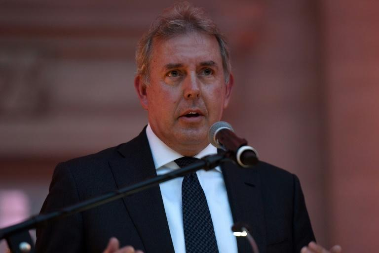 A second batch of leaked reports has been published by the Mail on Sunday newspaper, the first of which caused Britain's ambassador to Washington Kim Darroch to resign earlier this week. (AFP Photo/Riccardo Savi)