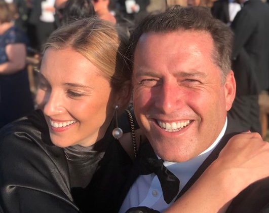 Karl posted this selfie to mark the occasion this morning, one day after the actual anniversary. Photo: Instagram/karlstefanovic_