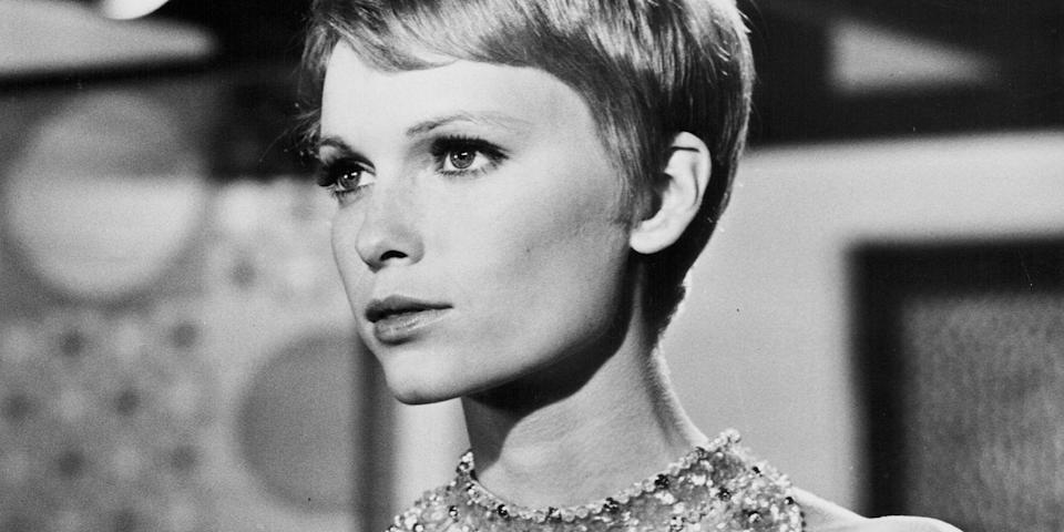 <p>From her Vidal Sassoon-styled pixie to iconic roles in films like <em>Rosemary's Baby </em>and <em>The Great Gatsby</em>, Mia Farrow cemented herself as an icon both in Hollywood and the fashion world. We're taking a look back at her best moments in photos from the '60s and '70s. </p>