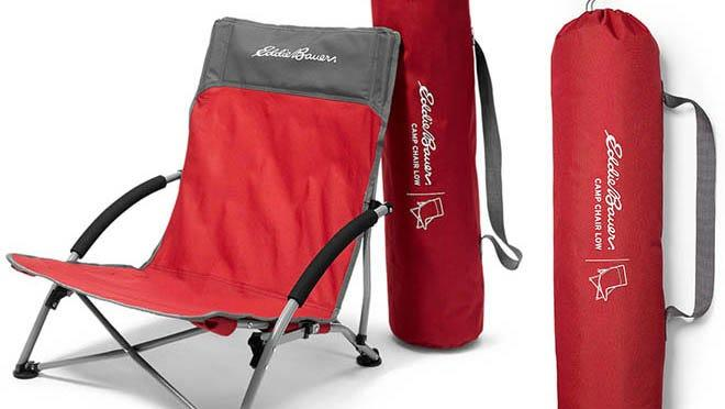 Eddie Bauer's Summer sale includes discounts on beach chairs of all types.