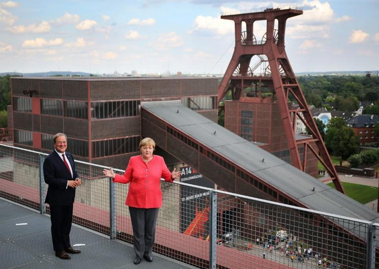 Merkel's refusal to advance a 2038 deadline to quit coal has irked environmentalists (AFP/Oliver Berg)