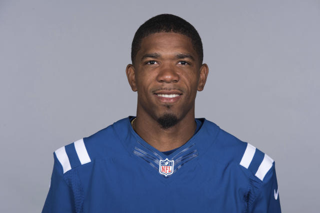 File-This is a 2017 file photo of Rashaan Melvin of the Indianapolis Colts NFL football team. The Oakland Raiders added some needed help at cornerback, agreeing to contracts with free agents Melvin and Shareece Wright on Friday, March 16, 2018. A person familiar with the move said Melvin got a one-year, $6.5 million contract. The person spoke on condition of anonymity because the terms were not announced. ESPN first reported the signing. (AP Photo/File)