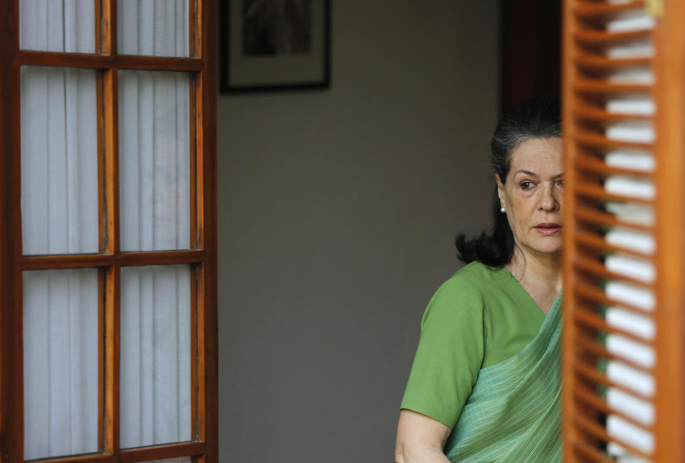 Sonia Gandhi to remain interim chief till 'proper procedure' for electing prez is implemented: Cong