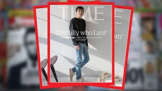 Page, who was born in Halifax, is the first transgender man who appear solo on the cover of Time magazine.