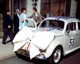 """<p>A low-key race car driver and his mechanic best friend end up owning a quirky VW Beetle that seems to have a personality of its own. The duo and their new car, named """"Herbie,"""" soar to the top of their sport, which puts them squarely in the crosshairs of an unscrupulous car dealer. It's a sweetly cheesy throwback movie with '60s retro flair.</p> <p><span>Watch <strong>The Love Bug</strong> on Disney+.</span></p>"""