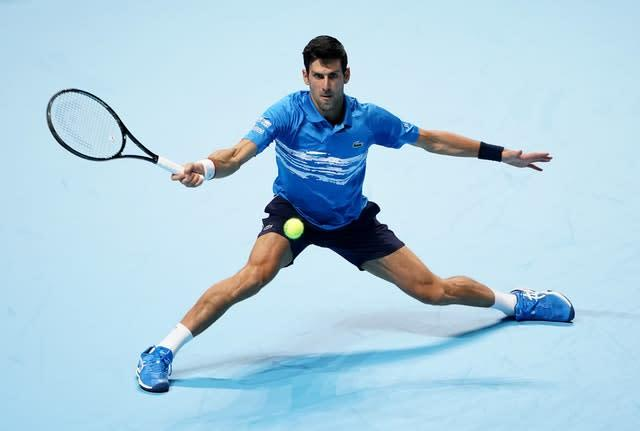Novak Djokovic knows the next generation are chasing hard (Tess Derry/PA)