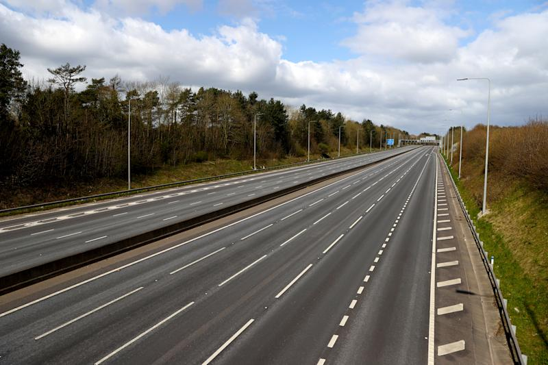 As new highways are built to improve Brits' journeys, old ones become abandoned, wasting millions of pounds of taxpaper money. ( Tim Goode/PA Wire/PA Images)