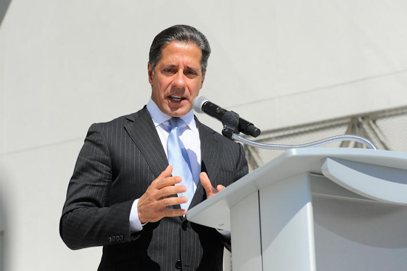 MIAMI, FL - MAY 08: Alberto M. Carvalho speaks at the Phillip Frost Museum of Science Opening and Dedication Ceremony at Frost Art Museum on May 8, 2017 in Miami, Florida. (Photo by Sergi Alexander/WireImage).