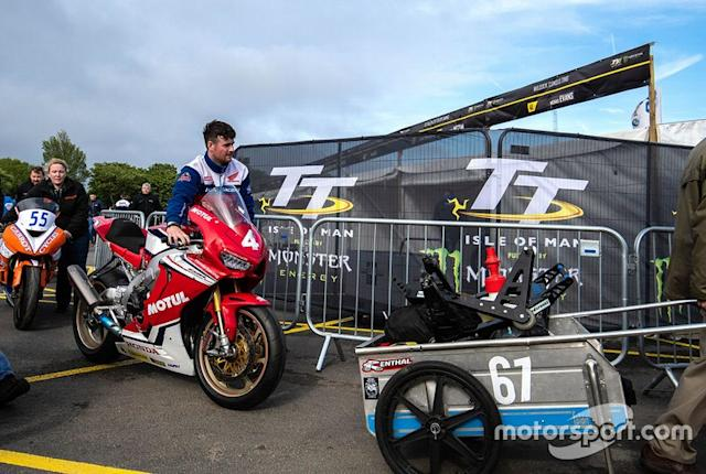 "Ian Hutchinson, Honda Racing <span class=""copyright"">Isle of Man TT</span>"