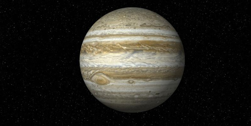 Jupiter's moons will be visible without a telescope tonight