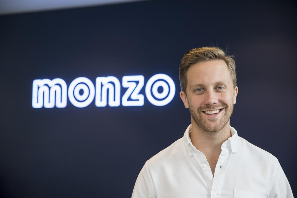 Monzo chief executive Tom Blomfield. Photo: Monzo