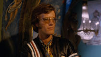 A counter-culture icon through his work in <em>Easy Rider</em> as well as being a member of the Fonda cinematic dynasty, he was nominated for several Oscars. Fonda died as a result of lung cancer on 16 August. (Credit: Columbia Pictures)
