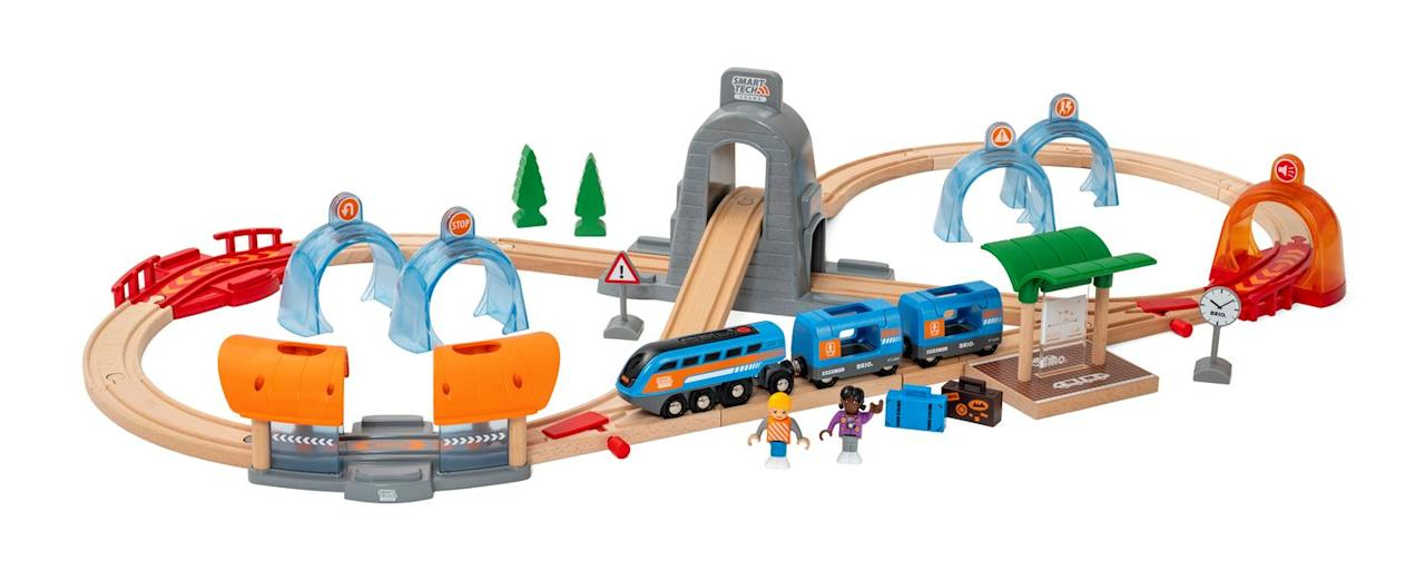 """<p>Kids will love whiling away an afternoon building Brio's smart tech railway set. Perfect for the whole family. </p><p><strong>READ MORE</strong>: <a href=""""https://www.housebeautiful.com/uk/lifestyle/shopping/g33533336/argos-christmas-toys-2020/"""" target=""""_blank"""">Argos reveals the top 12 toys for Christmas 2020</a></p><p><a class=""""body-btn-link"""" href=""""https://go.redirectingat.com?id=127X1599956&url=https%3A%2F%2Fwww.johnlewis.com%2Fbrand%2Fbrio%2F_%2FN-1yzkbeb&sref=https%3A%2F%2Fwww.housebeautiful.com%2Fuk%2Flifestyle%2Fshopping%2Fg33979702%2Fjohn-lewis-christmas-toys%2F"""" target=""""_blank"""">SHOP BRIO AT JOHN LEWIS</a> </p>"""