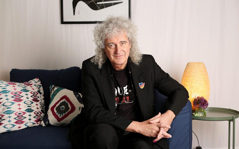 """'I've been to therapy, but some mornings I still wake up and think, """"I don't want to get up""""': Brian May - Clare Molden for DT"""