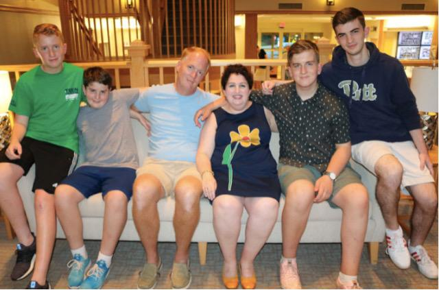 A worrying shortage of a critical drug, IG, could impact the lives of thousands of immune-deficient patients, including three of four sons in the Green family. (Photo: Sonia Green)