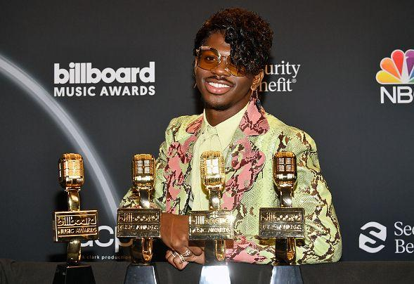 Lil Nas X au Billboard Music Awards le 14 octobre 2020. (Photo: Amy Sussman/Getty Images)