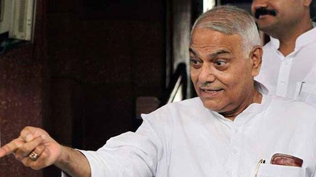 Senior BJP leader Yashwant Sinha has announced that he is quitting the party.