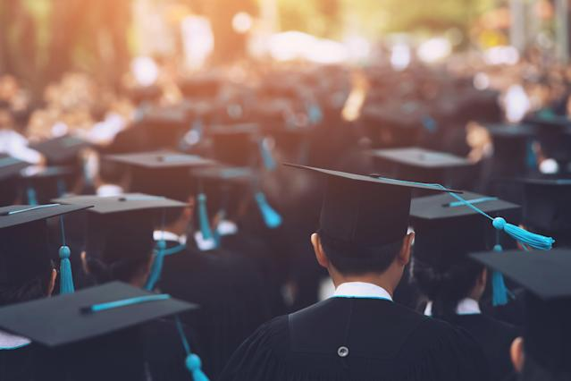 Students and those about to graduate are now looking to start their careers at a time when fewer jobs are available in a limited selection of industries. (Getty)
