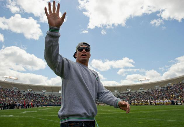 San Diego Chargers take the plunge and draft Manti Te'o in the second round