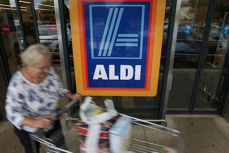 Aldi and Lidl have shot to popularity in the UK (AFP via Getty Images)