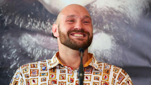 Tyson Fury is used to putting on a clinic in the ring, and he may find a new home in a doctors' surgery in the future.