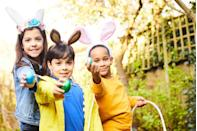 """<p>Kids are tasked with finding the eggs that have the letters to their name. First one to spell out their name wins!</p><p><strong>Get the tutorial at <a href=""""http://adventuresandplay.com/find-name-easter-egg-hunt/"""" rel=""""nofollow noopener"""" target=""""_blank"""" data-ylk=""""slk:Adventures and Play"""" class=""""link rapid-noclick-resp"""">Adventures and Play</a>.</strong></p><p><strong><strong><strong><a class=""""link rapid-noclick-resp"""" href=""""https://www.amazon.com/Prextex-Easter-Eggs-Assortment-288/dp/B06XFWF7JR/?tag=syn-yahoo-20&ascsubtag=%5Bartid%7C10050.g.4083%5Bsrc%7Cyahoo-us"""" rel=""""nofollow noopener"""" target=""""_blank"""" data-ylk=""""slk:SHOP EASTER EGGS"""">SHOP EASTER EGGS</a></strong></strong></strong></p>"""