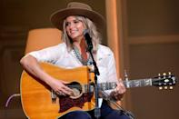 <p>Miranda Lambert was spotted rehearsing at the Ryman Auditorium in Nashville for the 56th Academy of Country Music Awards.</p>