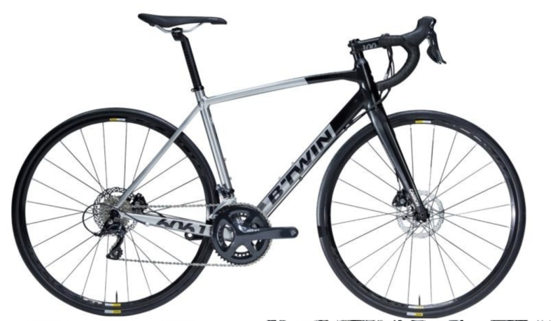 Ultra 500 road bike - Sora disc, S$1,150 (was S$1,400). PHOTO: Decathlon