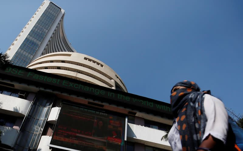 Sensex, Nifty snap four-day losing streak as government promises to tackle virus impact