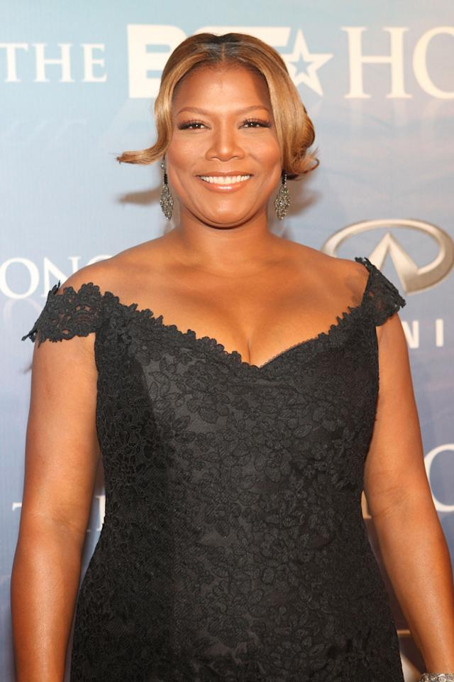 "All hail the Queen! Hip-hop's first lady, Queen Latifah, turned 40 on March 18 and we think she looks better than ever. Bennett Raglin/<a href=""http://www.wireimage.com"" target=""new"">WireImage.com</a> - January 17, 2009"