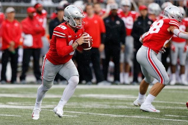 Tate Martell will be wearing green and orange in 2019. (AP Photo/Jay LaPrete)