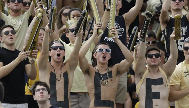 UCF was ranked 12th in the first College Football Playoff rankings of the season. (Getty)