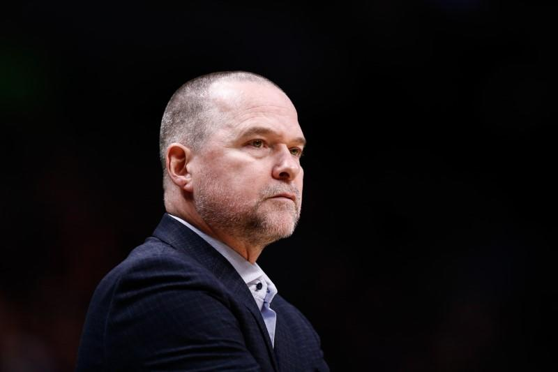 Nuggets coach Malone hits out at NBA's 'criminal' guest policy
