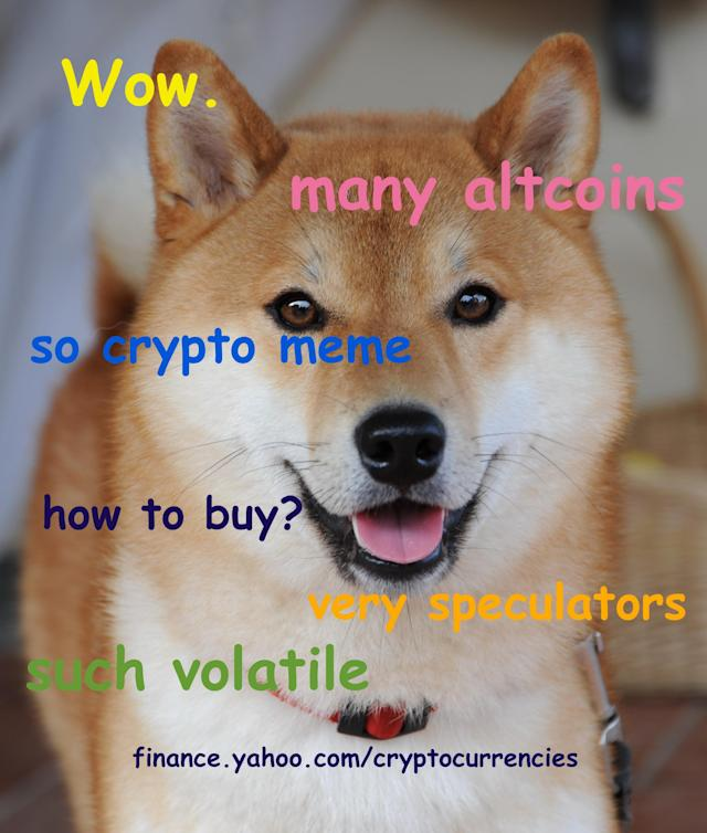 Dogecoin is a joke cryptocurrency based on a popular Internet meme. (Jared Blikre/Oath)