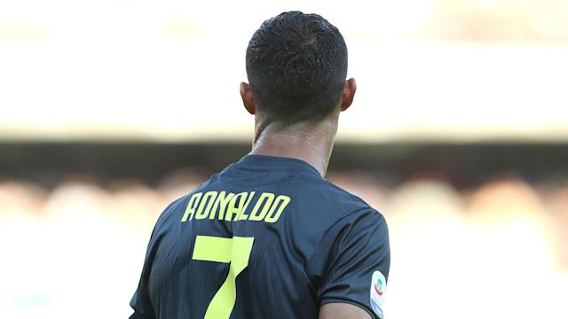 Juan Cuadrado was in possession of Cristiano Ronaldo's favoured number seven at Juventus but was happy to hand it over to the Portugal star.