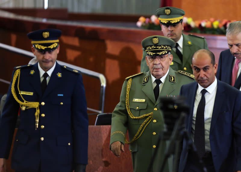 Algerian students still pushing for change after general's death