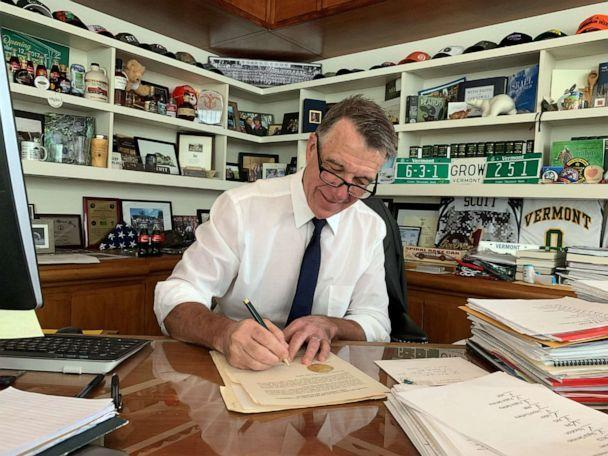 PHOTO: Vermont Governor Phil Scott appears in an image shared to Twitter on June 14, 2021. (Governor Phil Scott/Twitter)