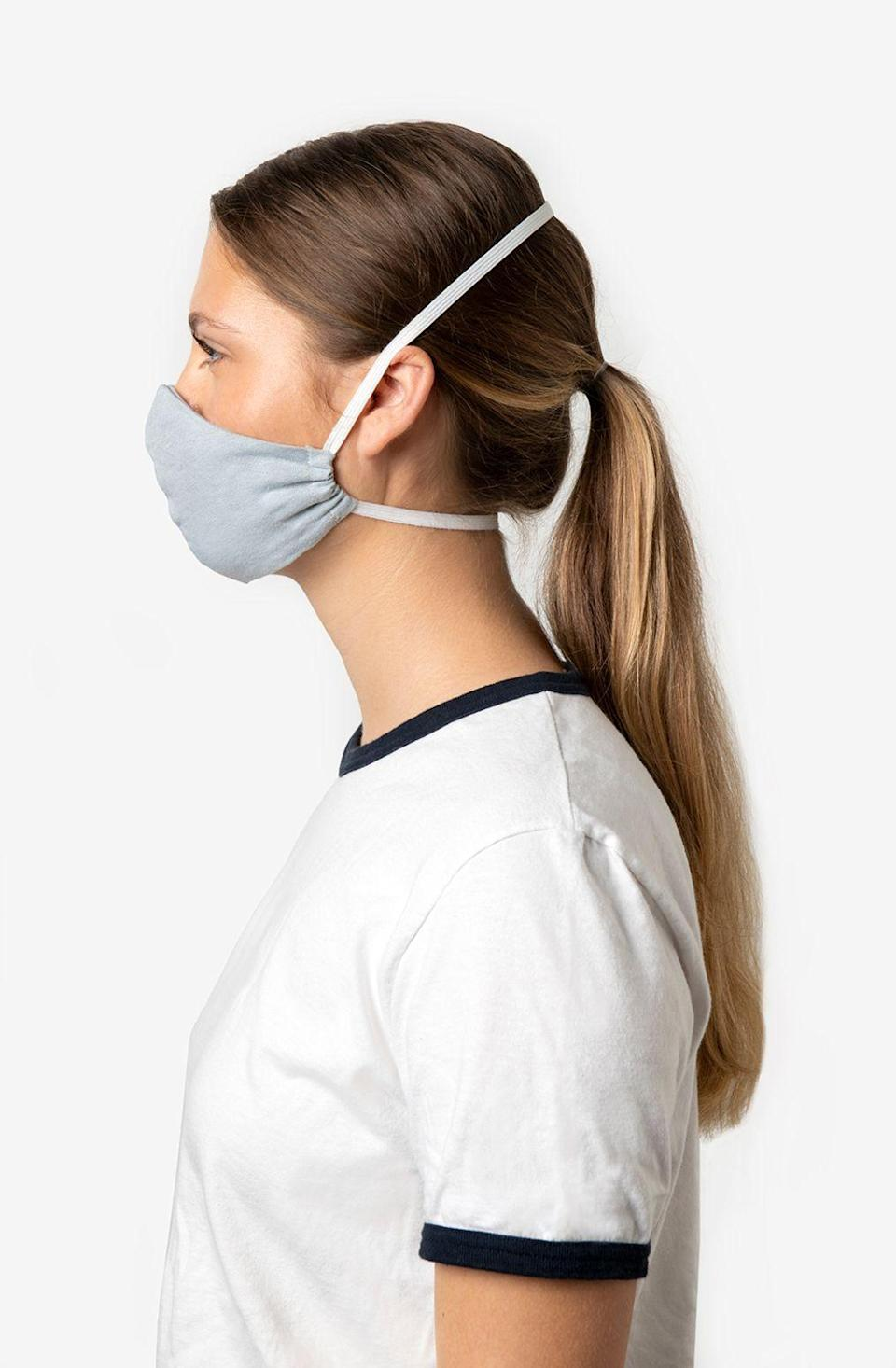 """<p><strong>Alabama Chanin</strong></p><p>alabamachanin.com</p><p><strong>$15.50</strong></p><p><a href=""""https://alabamachanin.com/products/reusable-non-medical-grade-face-masks"""" rel=""""nofollow noopener"""" target=""""_blank"""" data-ylk=""""slk:Shop Now"""" class=""""link rapid-noclick-resp"""">Shop Now</a></p><p>The Florence, AL brand is also offering <a href=""""https://journal.alabamachanin.com/2020/04/make-one-buy-one-donate-one-wear-one/"""" rel=""""nofollow noopener"""" target=""""_blank"""" data-ylk=""""slk:online tutorials"""" class=""""link rapid-noclick-resp"""">online tutorials</a> on making DIY masks. </p>"""