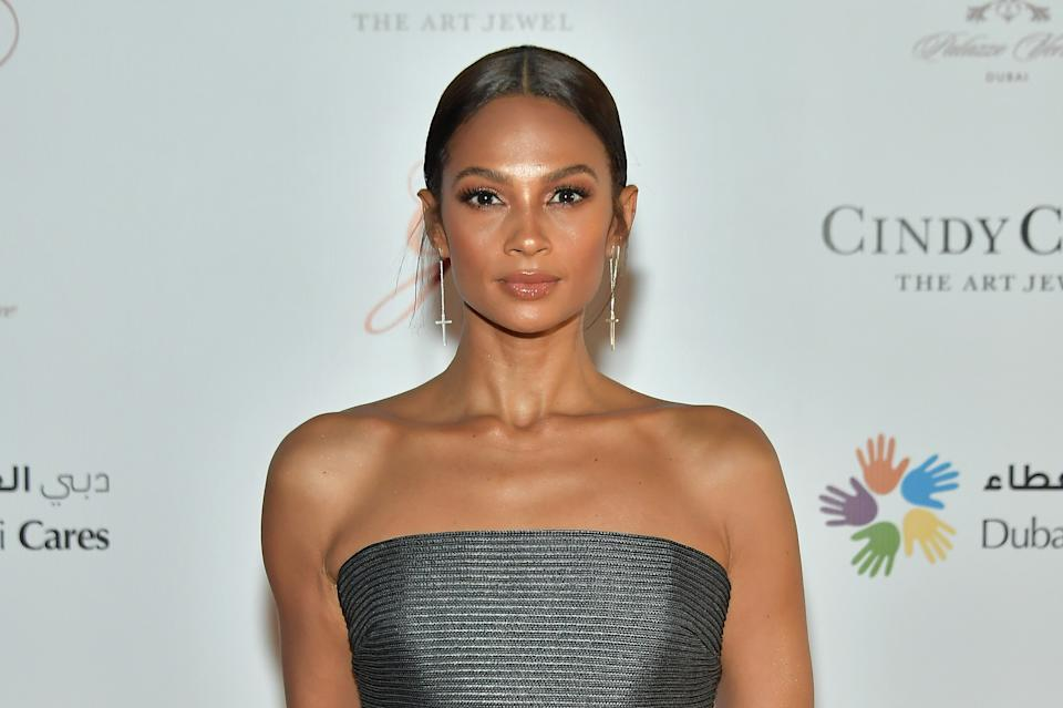 DUBAI, UNITED ARAB EMIRATES - DECEMBER 08:  Alesha Dixon attends the Global Gift Gala on day three of the 14th annual Dubai International Film Festival held at the Versace Hotel on December 8, 2017 in Dubai, United Arab Emirates.  (Photo by Neilson Barnard/Getty Images for DIFF)
