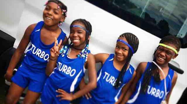 "<p>Former NFL wide receiver Chad Johnson donated $2,200 to the Turbo Track Club of Baltimore, Maryland to help a group of four young girls cover travel expenses for the upcoming USATF Hershey National Junior Olympic Track & Field Championships later this month.</p><p>Johnson responded to a tweet from Tariq Touré asking for help and then made a very generous donation on <a href=""https://www.gofundme.com/43zkz1c"" rel=""nofollow noopener"" target=""_blank"" data-ylk=""slk:the club's GoFundMe page"" class=""link rapid-noclick-resp"">the club's GoFundMe page</a>. Johnson <a href=""https://twitter.com/ochocinco/status/884867937408102401"" rel=""nofollow noopener"" target=""_blank"" data-ylk=""slk:responded"" class=""link rapid-noclick-resp"">responded</a> with ""You good now, I'll see y'all at Junior Olympics in Kansas. Good luck from @BabyChaiel_85 & myself, I love you guys.""</p><p>Johnson's 12-year-old daughter, Chai'el, has garnered national attention for her success at the National Junior Olympics in 2016 and 2016. She has run 2:18 for 800 meters. </p><p><em>Watch Johnson's daughter race below:</em></p><p>USA Track and Field expects nearly 10,000 athletes will compete at Rock Chalk Park in Lawrence, Kansas for the championship.</p>"